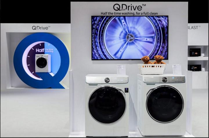 เครื่องซักผ้า QuickDrive รุ่นใหม่ WW7800M